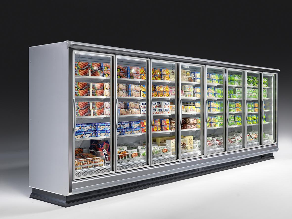 Arneg Astana and Mini Astana Frozen Display Cabinets